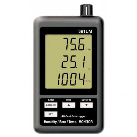 Enregistreur 3 en 1 de température, humidité et pression atmosphérique