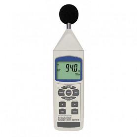 Sonomètre digital intégrateur Classe 2 - mesure de 30 à 130 dB