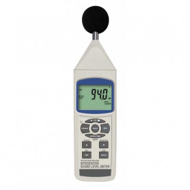 Sonomètre digital intégrateur Classe 1, mesure de 30 à 130 dB