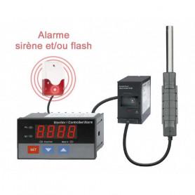Sonomètre digital avec sonde deportée et sortie relais