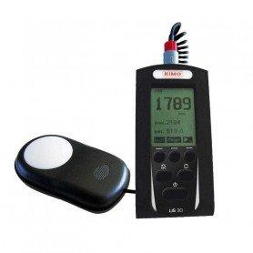 Luxmètre numérique portable classe B, jusqu'à 200 000 Lux