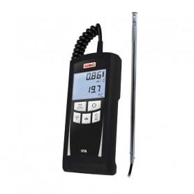 Thermo-anémomètre à fil chaud, mesure jusqu'à 30 m/s