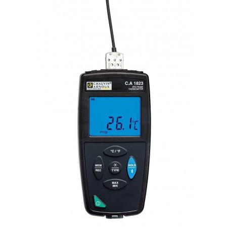 Thermomètre de contact précis, mesure de -100° à + 400°C