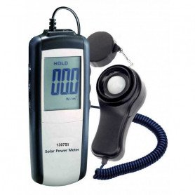 Luxmètre pour la mesure du rayonnement solaire, de 0 à 2000 W/m2