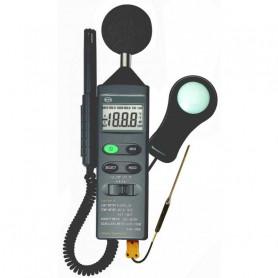 Mesureur 4 en 1 pour la température, l'humidité, la luminosité et le son