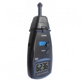 Tachymètre optique et mécanique, mesure de 5 à 10 000 tr/mn