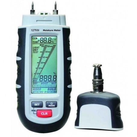 Hygromètre pro multi-sondes et multi-matériaux