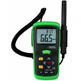 Thermo-hygromètre type K digital, de 0 à 100% RH