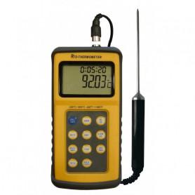 Thermomètre avec sonde haute précision et certificat de calibration