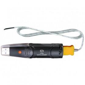 Enregistreur de température autonome type K, format USB