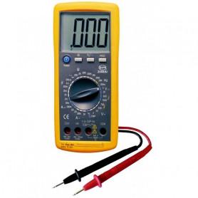 Multimètre digital jusqu'à 20A avec sonde température type K filaire