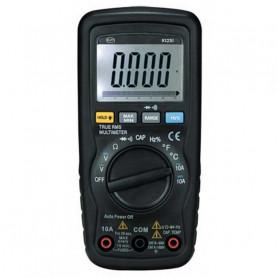 Multimètre digital professionnel, affichage 6000 points