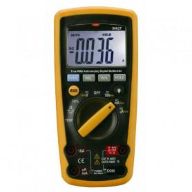 Multimètre digital étanche IP67, affichage 4000 points