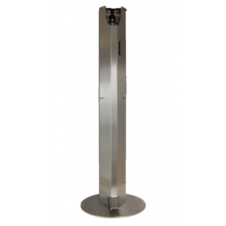 Distributeur automatique de gel hydroalcoolique sur pied