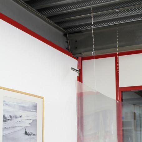 Lot de Hygiaphone protection Coronavirus à suspendre au plafond