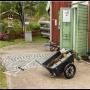 Char à bras léger pour vélo, capacité de charge 150 kg