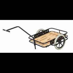Char à bras léger avec plateau en bois, charge 150 kg