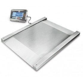 Balance au sol surbaissé en inox , portée de 600 kg à 1.5 t, précision de 200 g à 500 g