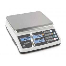 Balance poids prix, portée max. de 3 kg à 30 kg, précision de 1 g à 10 g