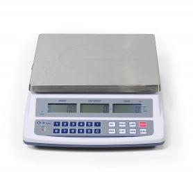 Balance compteuse 3 afficheurs, portée de 6 à 30 kg, précision de 0.2g à 1g