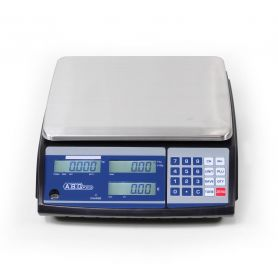 Balance poids prix homologuée, portée de 6 à 30 kg, précision de 2 à 10 g