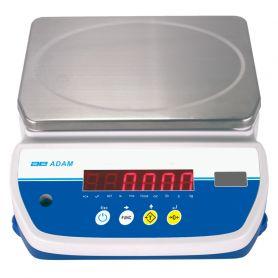 Balance compacte étanche IP67, portée de 4 à 32 kg, précision de 0.5g à 5g