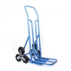 Diable escaliers 3 roulettes, double pelle, charge 250 kg